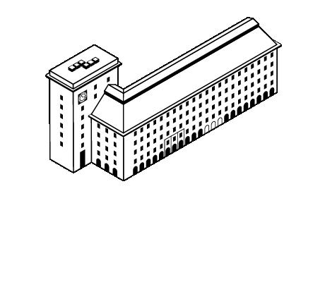 Kaikukatu ja Elannon talo.